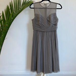 J Crew Silk Chiffon Clara Dress